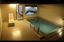 luxury resort swimming pool corbett